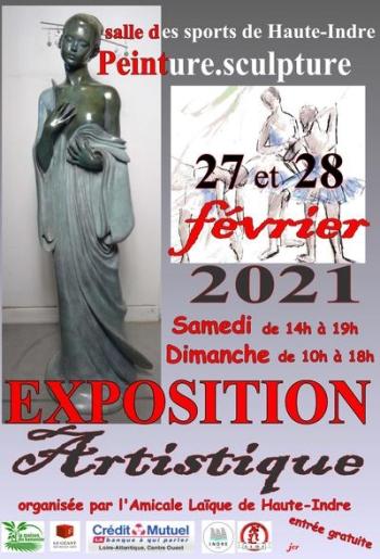 12° Exposition Artistique à Haute INDRE - Indre (44610)