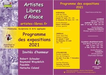 Artistes Libres d'Alsace Peintures