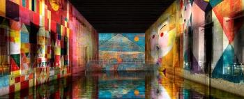 Bassins de Lumières Base sous-marine - Bordeaux 33