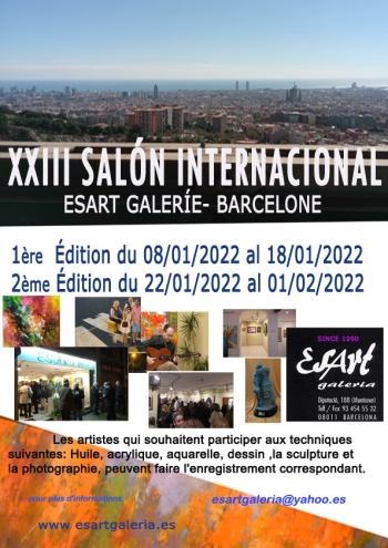 Salón International Esart Galerie Barcelone
