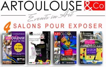 4 Salons pour Exposer
